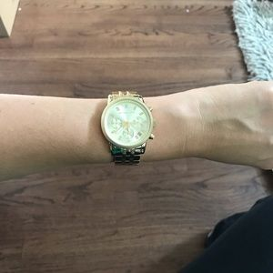 Michael Kors Women's Gold Toned Steel Watch